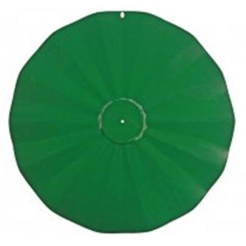 Erva Hanging Disk Squirrel Baffle, Green