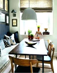 Banquette Bench Seating Dining Room Furniture Breakfast Table With Seat Simple Kitchen Plans
