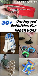 30 Unplugged Activities For Tween Boys