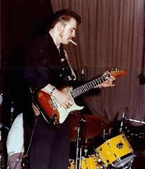 Stevie Ray Vaughan Without A Stratocaster In His Hands