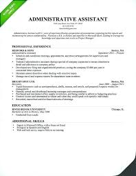 Legal Administrative Assistant Resume Sample Home Improvement Cast