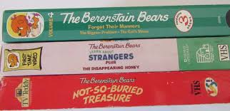 The Berenstain Bears Christmas Tree Dvd by Berenstain Bears Vhs For Sale Classifieds