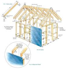 Slant Roof Shed Plans Free by Free Deluxe Tree House Plans