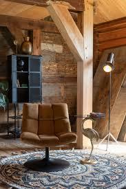 bone bar lounge sessel braun