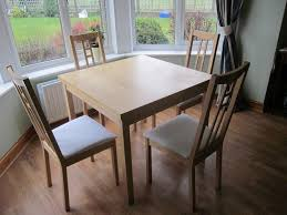 100 Birch Dining Chairs EXTENDING DINING TABLE 4 CHAIRSIKEA BIRCH Spare Seat
