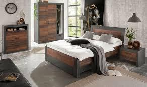 schlafzimmer komplett set in used wood und grau komplettzimmer 5 teilig ward