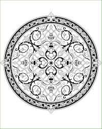 Coloriage Mandala Automne Mandala D Automne Griffonnage Tribal Avec