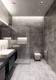 Bathrooms Designs Two Apartments With Texture One Soft One Sleek Grey