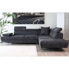 canapé design microfibre seduisant canape design moderne canapé d angle droite 3 places en