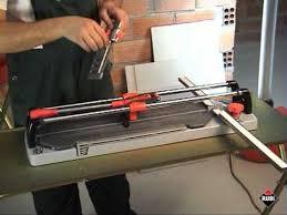 rubi tr s manual tile cutter youtube