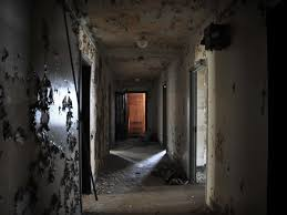 Interior Of Haunted House