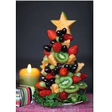 Fruit And Veggie Christmas Tree Ideas Projects Ideas Art And Craft