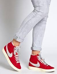 Nike Blazer Mid Vintage Suede High Top Sneakers