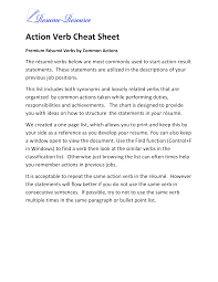 Action Verb Cheatsheet | Templates At Allbusinesstemplates ... Computer Science Resume Verbs Unique Puter Powerful Key Action Verbs Tip 1 Eliminate Helping The Essay Expert Choosing Staff Imperial College Ldon Action List Pretty Words Cv Writing Services Melbourne Buy Essays Online Best Worksheets Rewriting Worksheet 100 Original Resume Eeering Page University Of And Cover Letter
