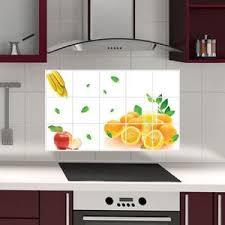 stickers carrelage cuisine pas cher stickers carrelage cuisine fruits achat vente pas cher