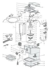 Keurig Coffee Maker Parts Diagram Plus For Frame Inspiring B40 534