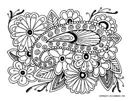 Free Coloring Page Adult Difficult 16 Complex With Many