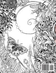 Manic Botanic Zifflins Coloring Book Amazoncouk Zifflin Irina Vinnik 9781523692057 Books