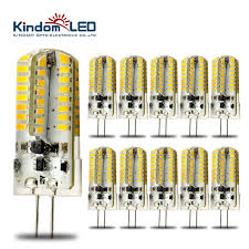 kindomled 10pcs g4 12 volt led light bulbs ac dc 3w 6w l high