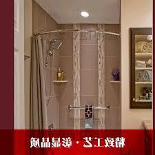 Bathroom Curtain Rod Walmart by Accessories Arched Curtain Rod With Regard To Elegant Window