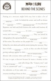 Halloween Mad Libs Pdf by Best 25 Funny Mad Libs Ideas On Pinterest Mad Song Holiday
