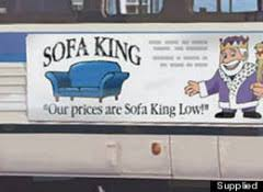 Sofa King Burger Menu by It U0027s Sofa King Famous U2013 Strong Language
