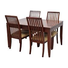 Macys Dining Room Sets by 81 Off Macy U0027s Macy U0027s Metropolitan Dining Set With Four Chairs