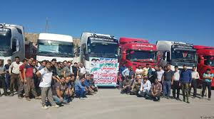 Iranian Truckers' Strike Gains International Support