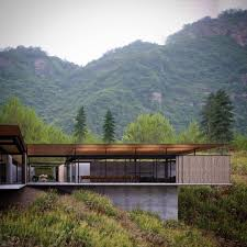 100 Robinson Architects China Cool Houses In 2019 Roof Architecture