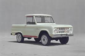 The Ford Bronco Celebrates Its 50th Anniversary 1966-2016 Photo ... 1969 Ford Bronco Half Cab Jared Letos Daily Driver Is A With Flames On It Spied 2019 Ranger And 20 Mule Questions Do You Still Check Trans Fluid With Truck In Year Make Model 196677 Hemmings 1966 Service Pickup T48 Anaheim 2016 Indy U101 Truck Gallery Us Mags 1978 Xlt Custom History Of The Bronco 1985 164 Scale Custom Lifted Ford