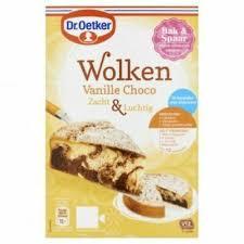 dr oetker wolken vanille choco mix 455g ebay