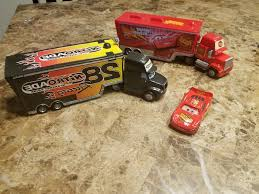 Lot Disney Cars Semi Truck Hauler Transporter Mack | ARDIAFM