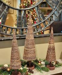 Rustic Christmas Table Ornaments
