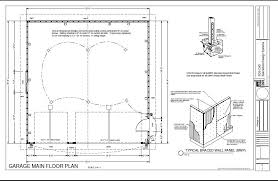30x30 2 Bedroom Floor Plans by G234 30 X 30 Garage Free House Plan Reviews