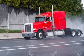 Professional Classical Bonnet Red Semi-truck With A Long Cab.. Stock ... Tesla Semi Protype Spotted Apparently Broken Down Makes Nsayers Big Rig Classic Red Semi Truck With A Lot Of Chrome Details On This Teamsters Chief Fears Us Selfdriving Trucks May Be Unsafe Hit Sysco Truck Driver The Phone While Driving Youtube Commercial Drivers License Wikipedia How To Drive Daimler Vision One Electric Promises 215 Miles Range New Volvo Vnl News Advantages Of Becoming A Will Technology Make Drivers Obsolete In 10 Years Ubers Have Started Hauling Freight Ars Technica Euro Beamng