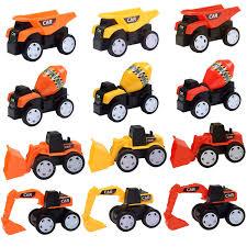 LEHII Sandbox Toy Trucks For Kids Boys And Girls, 12 Pack Toy ...