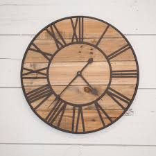 Clocks: Rustic Wood Wall Clock Rustic Wooden Clocks, Rustic Clocks ... Rustic Wall Clock Oversized Oval Roman Numeral 40cm Pallet Wood Diy Youtube Pottery Barn Shelves 16 Image Avery Street Design Co Farmhouse Clocks And Fniture Best 25 Large Wooden Clock Ideas On Pinterest Old Wood Projects Reclaimed Home Do Not Use Lighting City Reclaimed Barn Copper Pipe Round Barnwood Timbr Moss Clock16inch Diameter Products