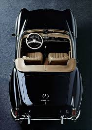 Mercedes 190 SL Send Off Car