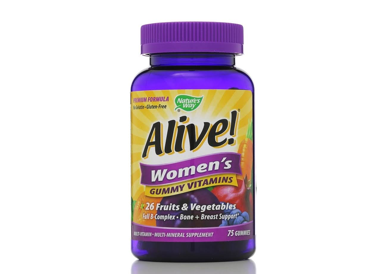Nature's Way Alive! Women's Gummy Vitamins - 75 Gummys