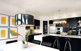 View In Gallery Black And White Kitchen