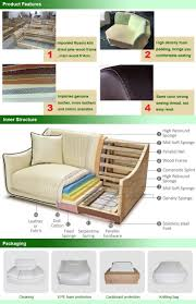 100 Latest Couches Home Furniture Modern Italian Leather Sofa China