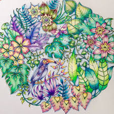 Coloring Gallery Coloured By Gundi Johannabasford Magicaljungle