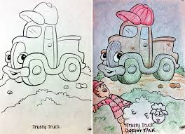 Funny Children Coloring Book Corruptions 27