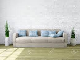 moderne minimalistische interieur eines wohnzimmer mit nach hause möbel für ihre stimmung und design wohnzimmer mit komfortabel und gemütlich sofa