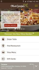 Find Restaurants & Order ToGo With The Olive Garden App