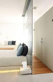 chambre salle de bain ouverte 5 façons d intégrer une salle de bain dans votre chambre ré