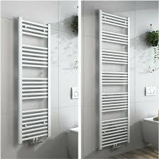 heizkörper handtuchhalter weiß handtuchwärmer badezimmer heizung mittelanschluss ebay