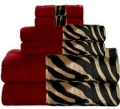 red leopard bathroom set decorating clear