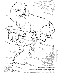 Appealing Animal Printable Coloring Pages Free Dog For Kids Another Picture And Gallery