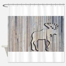 Christmas Moose Shower Curtains